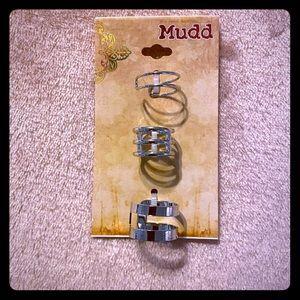 Mudd 3 Piece Ring Set